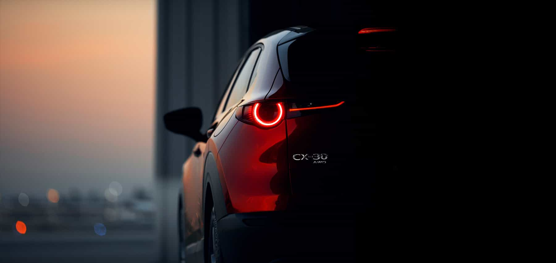 Mazda CX 30 Gallery Rear Dark